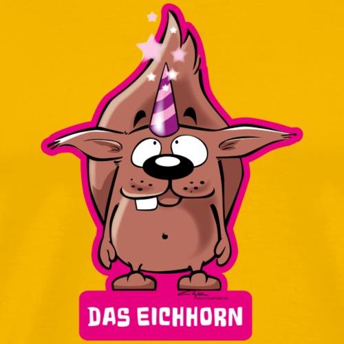 Das Eichhorn - Männer Premium T-Shirt