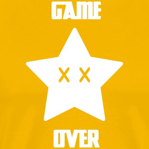 Game Over - Mario Star - T-shirt Premium Homme