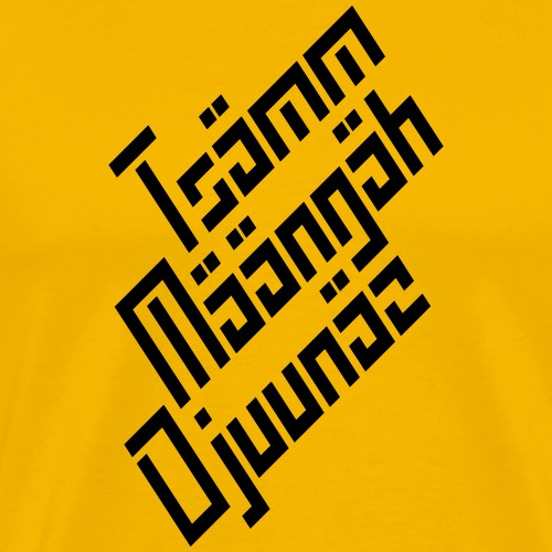 TMD big - Premium-T-shirt herr