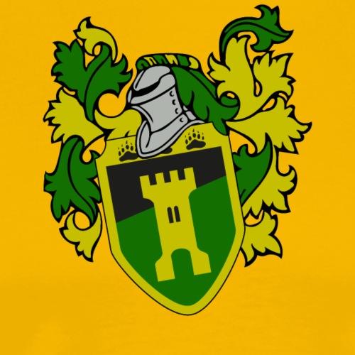 Beringer Wappen mit Zier - Männer Premium T-Shirt