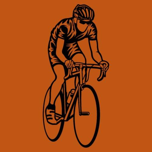 Rennrad / Racing Bicycle 01_schwarz - Männer Premium T-Shirt