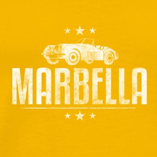 Marbella Vintage Car - Men's Premium T-Shirt