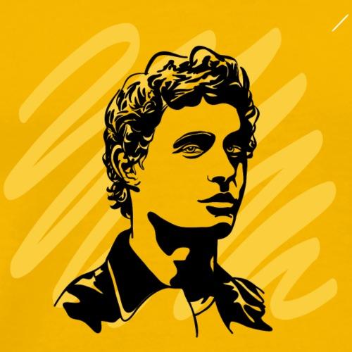 Rostro - Camiseta premium hombre