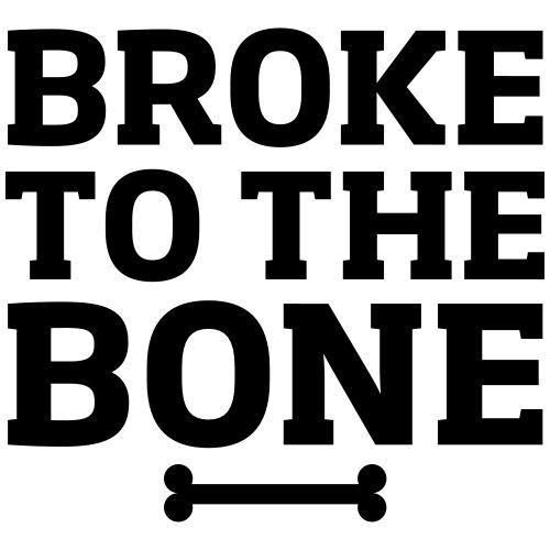 Broke To The Bone - Men's Premium T-Shirt