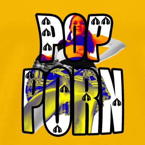POP PORN CENSURED - T-shirt Premium Homme