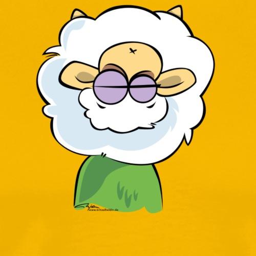 Schaf Wolle 01 - Männer Premium T-Shirt