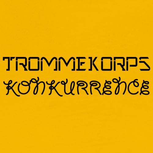 TK BLACK - Herre premium T-shirt