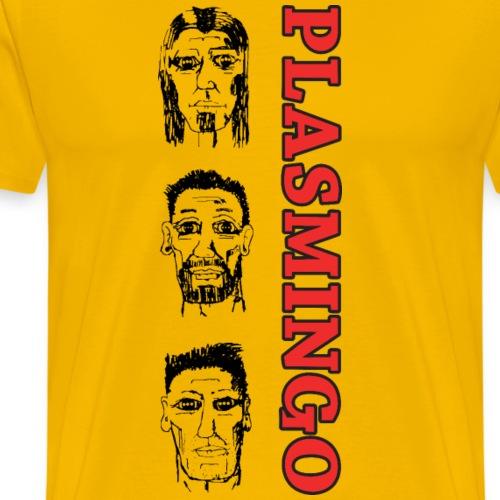 Plasmingo - Androids - Premium-T-shirt herr
