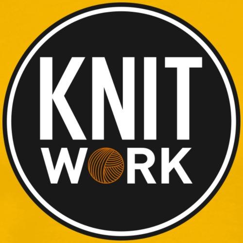 Knitwork - Herre premium T-shirt
