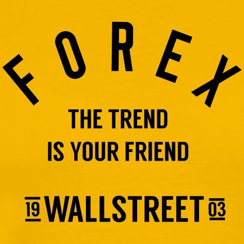 Forex-trend-friend - Men's Premium T-Shirt