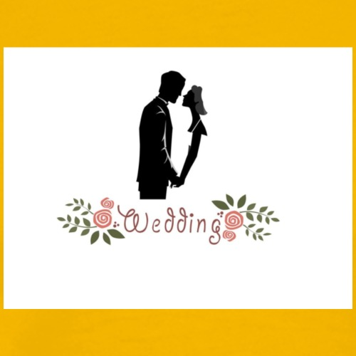 wedding - Camiseta premium hombre