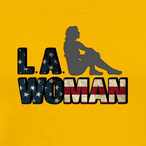 L.A. Woman - Men's Premium T-Shirt