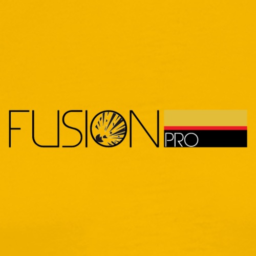 FUSION Pro Official Text Logo - Men's Premium T-Shirt