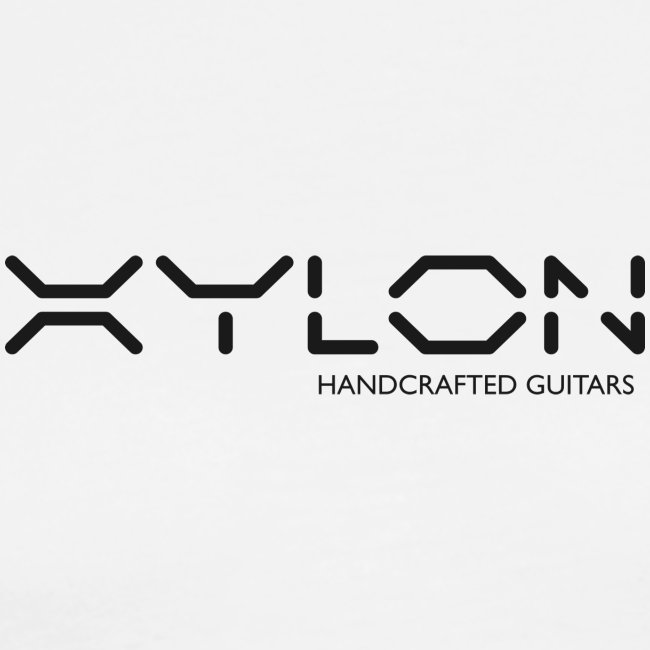 Xylon Handcrafted Guitars (plain logo in black)