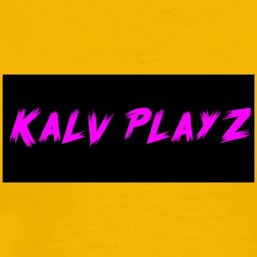 Kalv Playz Shirt Logo - Men's Premium T-Shirt