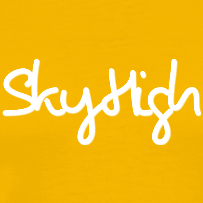 SkyHigh - Women's Chill Shirt - White Lettering