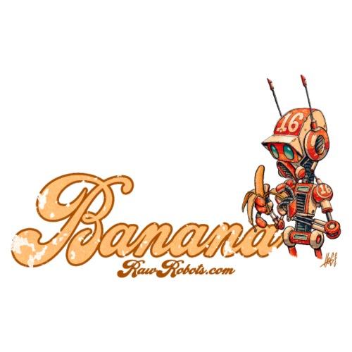 Banana Robot! 🍌 - Herre premium T-shirt