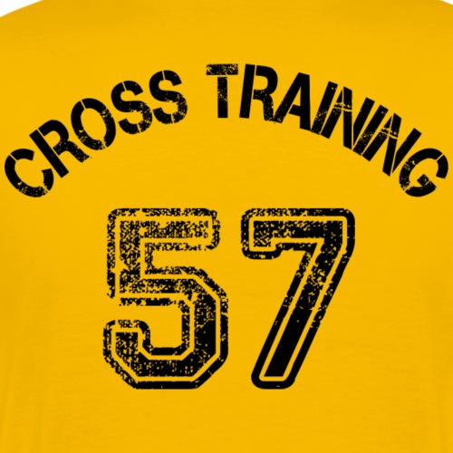 02 - Visuel dos - Cross training 57 - T-shirt Premium Homme