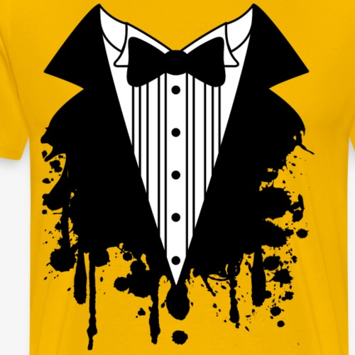 tuxedo-blob - Men's Premium T-Shirt