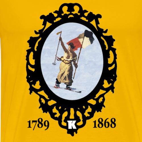 Telemark Revolution - T-shirt Premium Homme