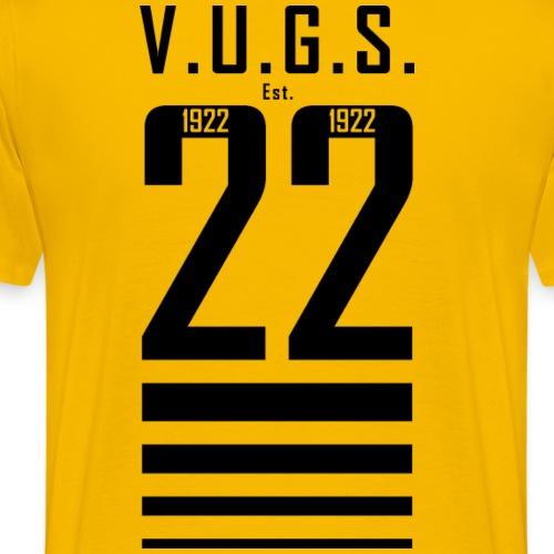 V.U.G.S. Est. 1922 - Mannen Premium T-shirt