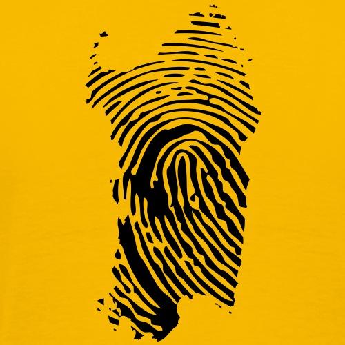 Sardegna Impronta Digitale - Maglietta Premium da uomo