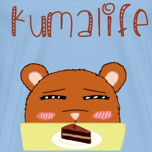 kumalife cake - Men's Premium T-Shirt