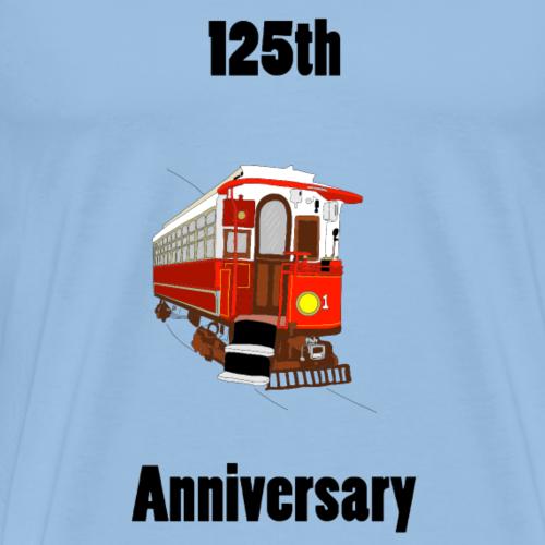 Isle of Man Electric Railway 125th Anniversary - Men's Premium T-Shirt