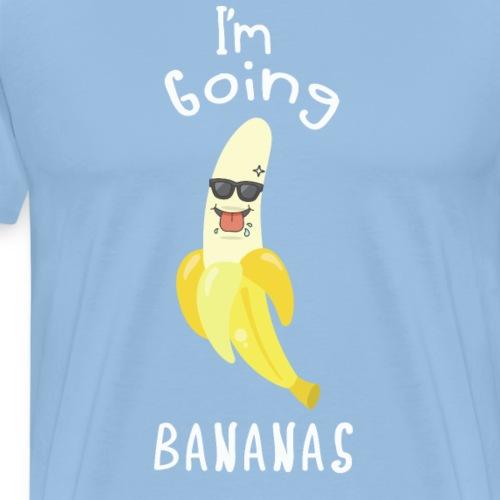 GOING BANANAS Party Shirt Hochzeit Partygänger - Männer Premium T-Shirt