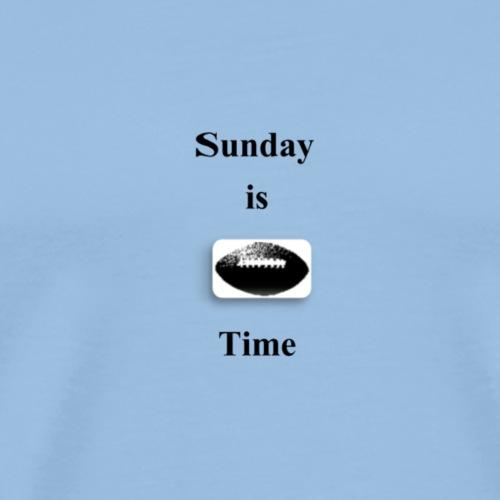 Sunday is - Männer Premium T-Shirt