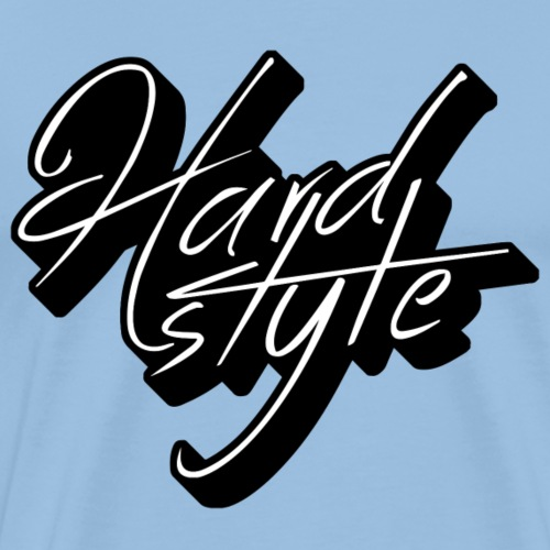Hardstyle Handwritten 3D - Männer Premium T-Shirt