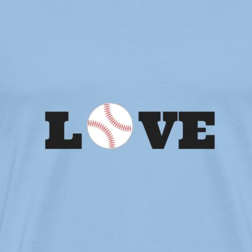 Love baseball - T-shirt Premium Homme