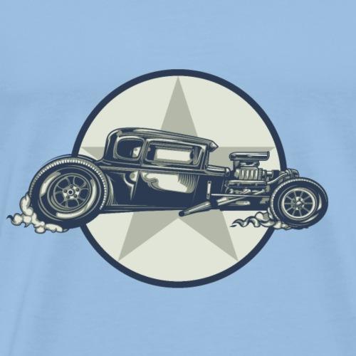 Hot Rod Masters dunkelblau basic - Männer Premium T-Shirt
