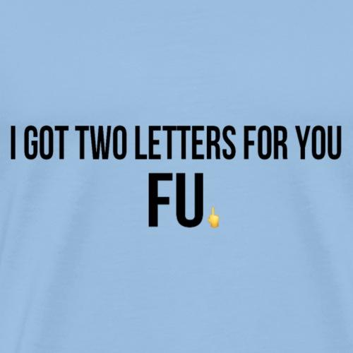 FU - Camiseta premium hombre