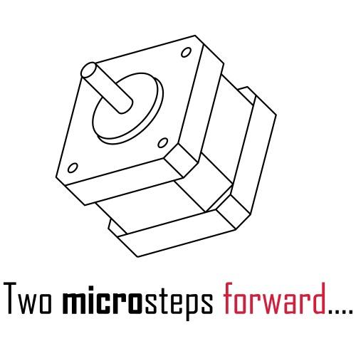Two microsteps forward.... - Men's Premium T-Shirt