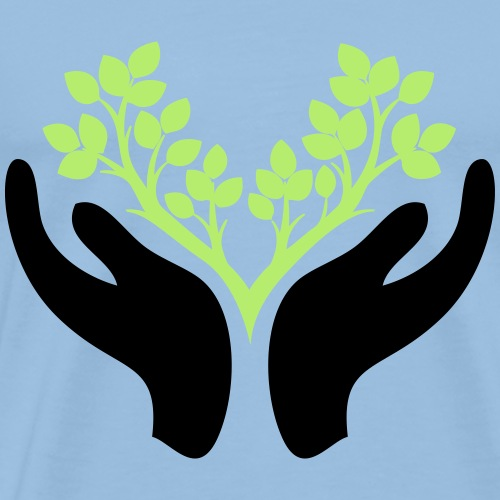 save the forest symbol - Männer Premium T-Shirt