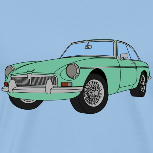 FLORIDA GREEN MGB - Men's Premium T-Shirt
