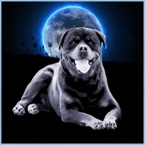 Rottweiler FAKIR coucher de lune - T-shirt Premium Homme