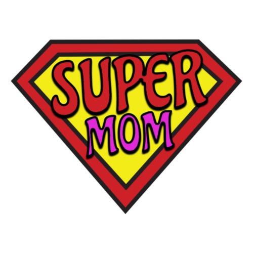 SUPER MOM - Maglietta Premium da uomo