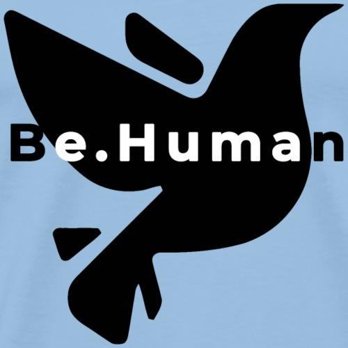 be human liberty - Mannen Premium T-shirt