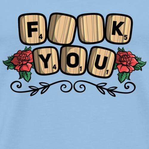 Fuck you Brettspiel - Männer Premium T-Shirt