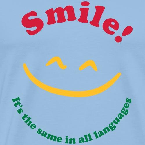 smile2 - Männer Premium T-Shirt
