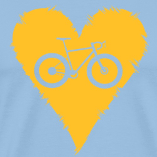 I love bicycles - Männer Premium T-Shirt