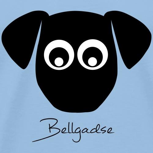 Bellgadse (schwarzer Print) - Männer Premium T-Shirt