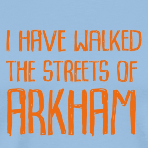 Streets of Arkham Orange - Premium-T-shirt herr
