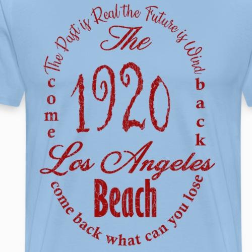 Los Angeles 1920 - red - Männer Premium T-Shirt