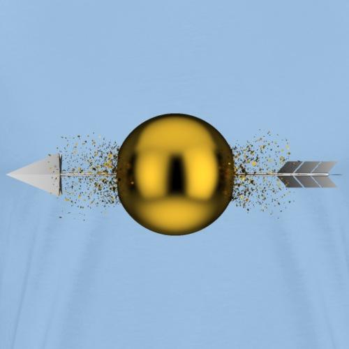 Sphère transpercée - T-shirt Premium Homme