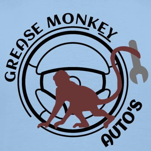 Grease monkey - Men's Premium T-Shirt