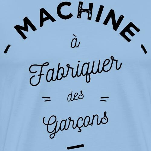 Machine à garçons - T-shirt Premium Homme