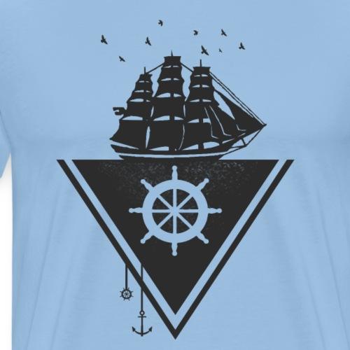 The Flying Dutchman Der fliegende Holländer black - Männer Premium T-Shirt